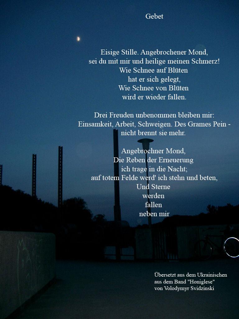 Gedicht Veränderung